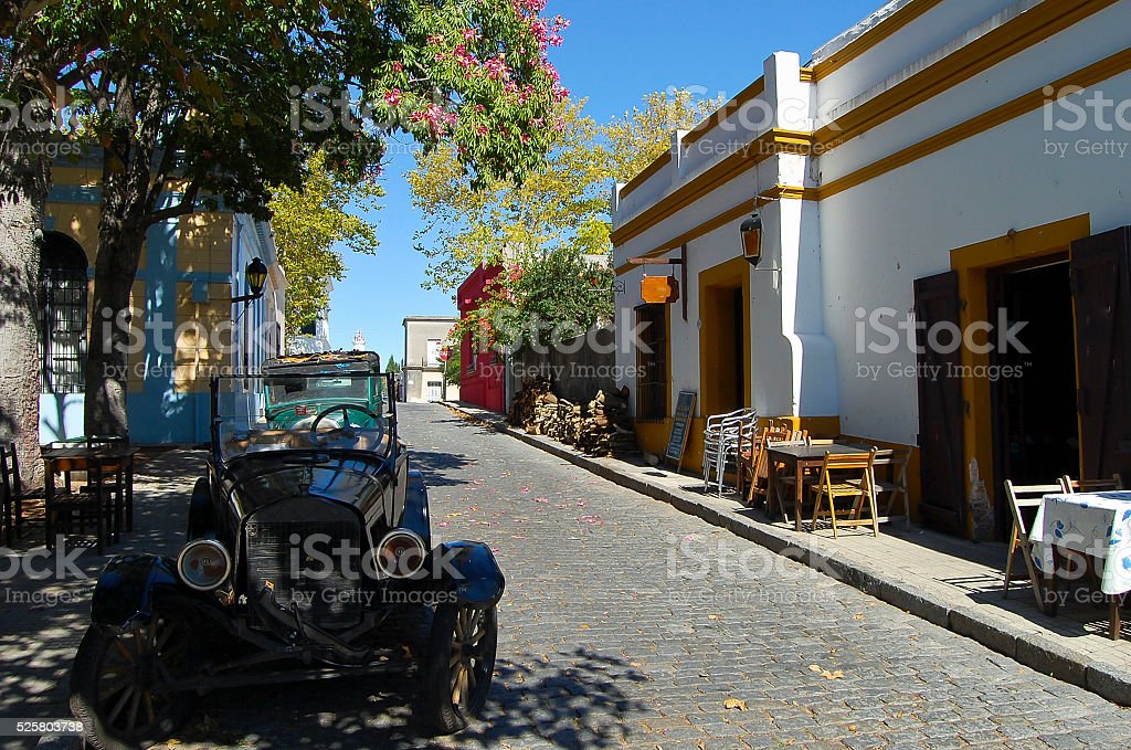 Colonia Del Sacramento - Uruguay stock photo