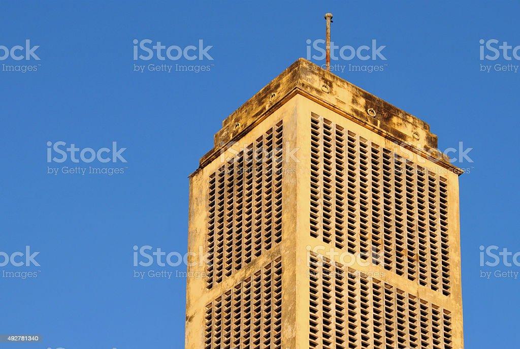 Colonial architecture, Dar es Salaam, Tanzania stock photo