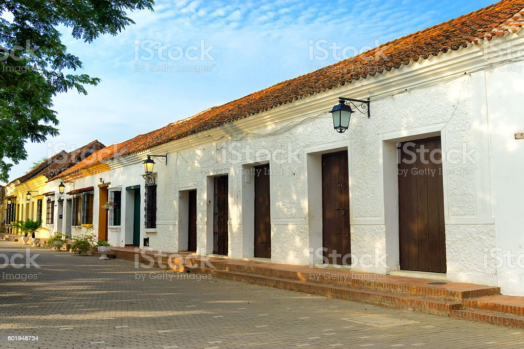 Colonial Architecture View stock photo