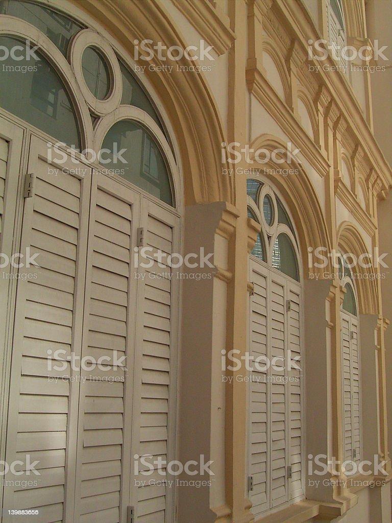 Colonial Building in Hong Kong royalty-free stock photo