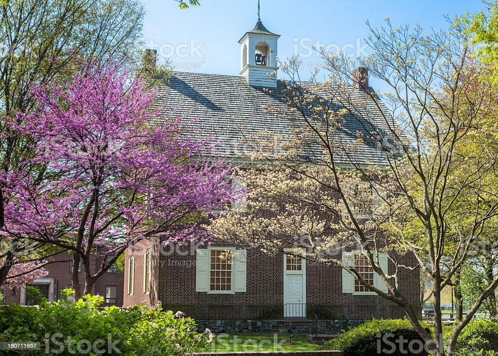 Colonial Court House in York Pennsylvania stock photo