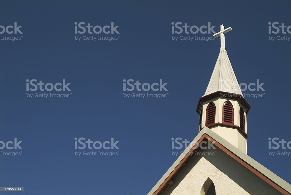 Colonial Cross stock photo