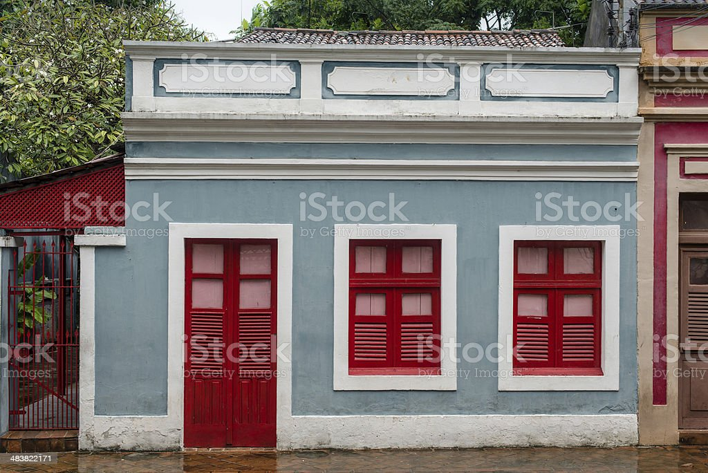 Colonial Olinda, Brazil royalty-free stock photo