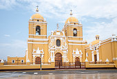 Colonial Style Cathedral In Trujillo, Peru