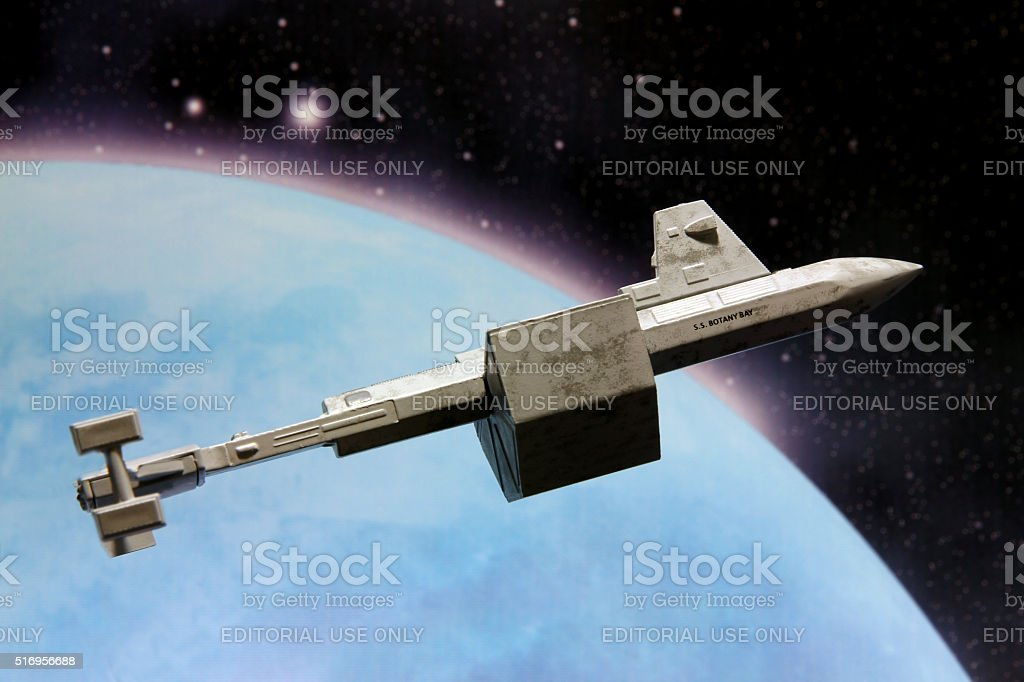 Colonizing Space stock photo