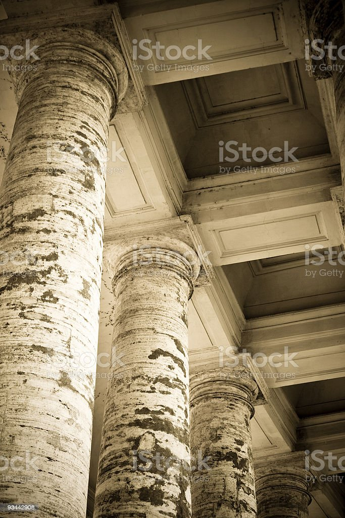 Colonnade royalty-free stock photo