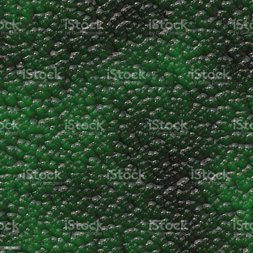 Colony of dangerous bacteria royalty-free stock photo