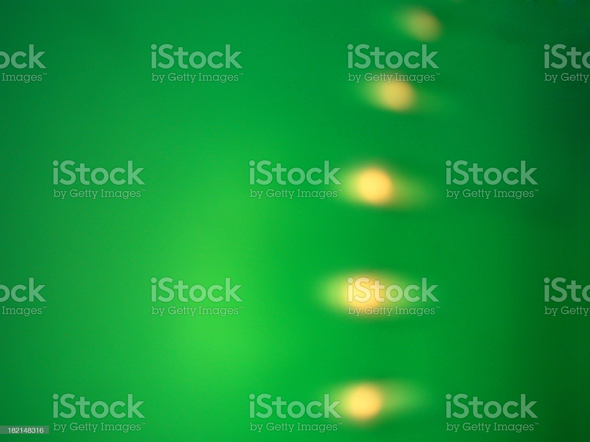 color - 5 dots in green light royalty-free stock photo