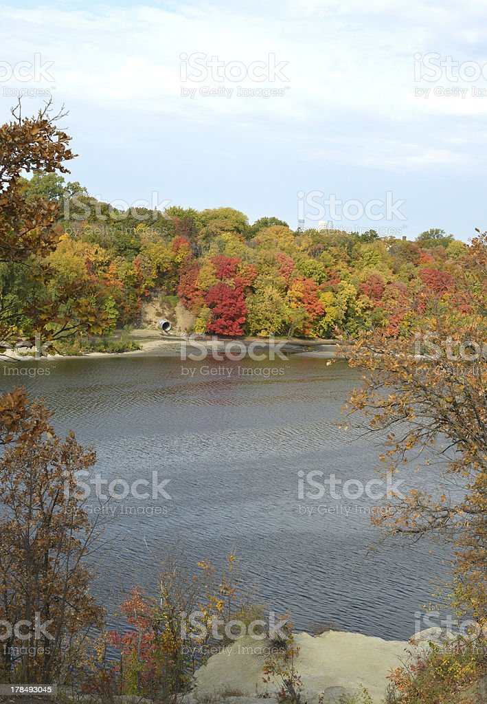 Color Across the Water royalty-free stock photo