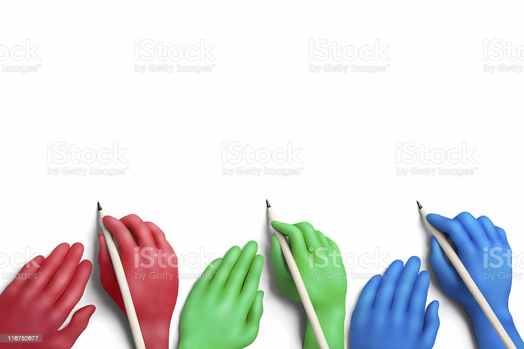 Color agreement royalty-free stock photo