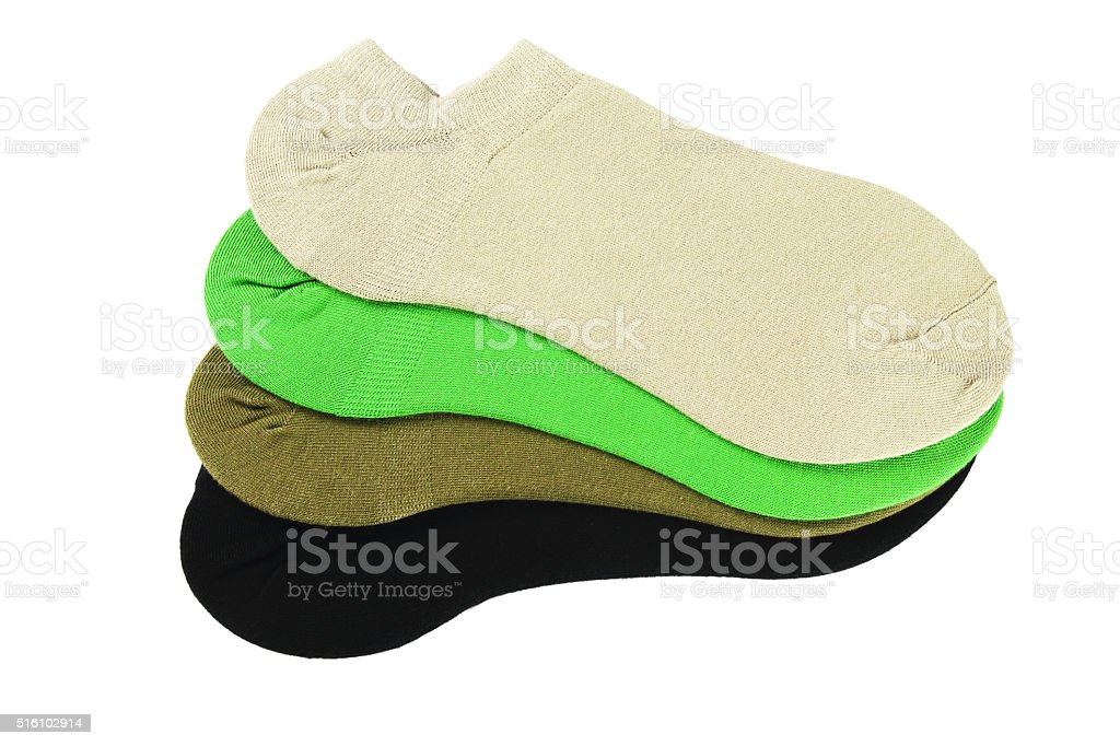 Color Ankle Socks stock photo