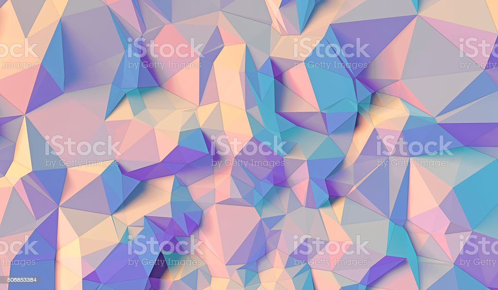 Color background of triangles stock photo