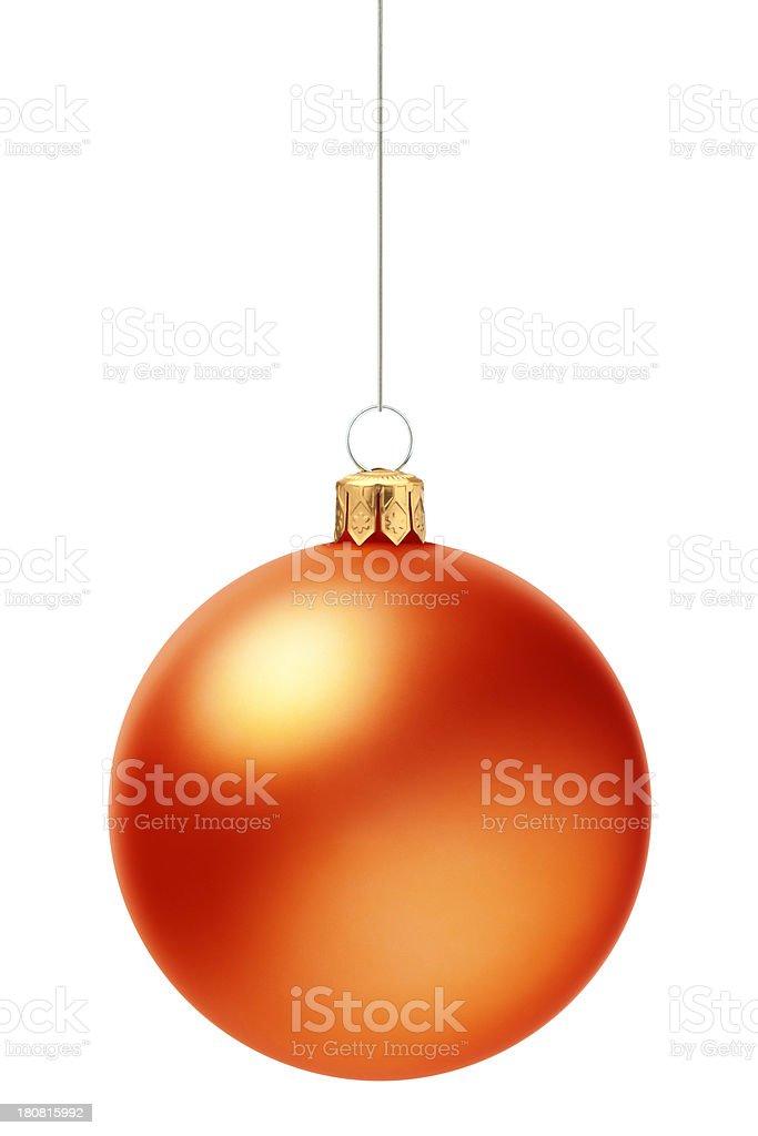 Color Ball (Christmas Decoration) royalty-free stock photo
