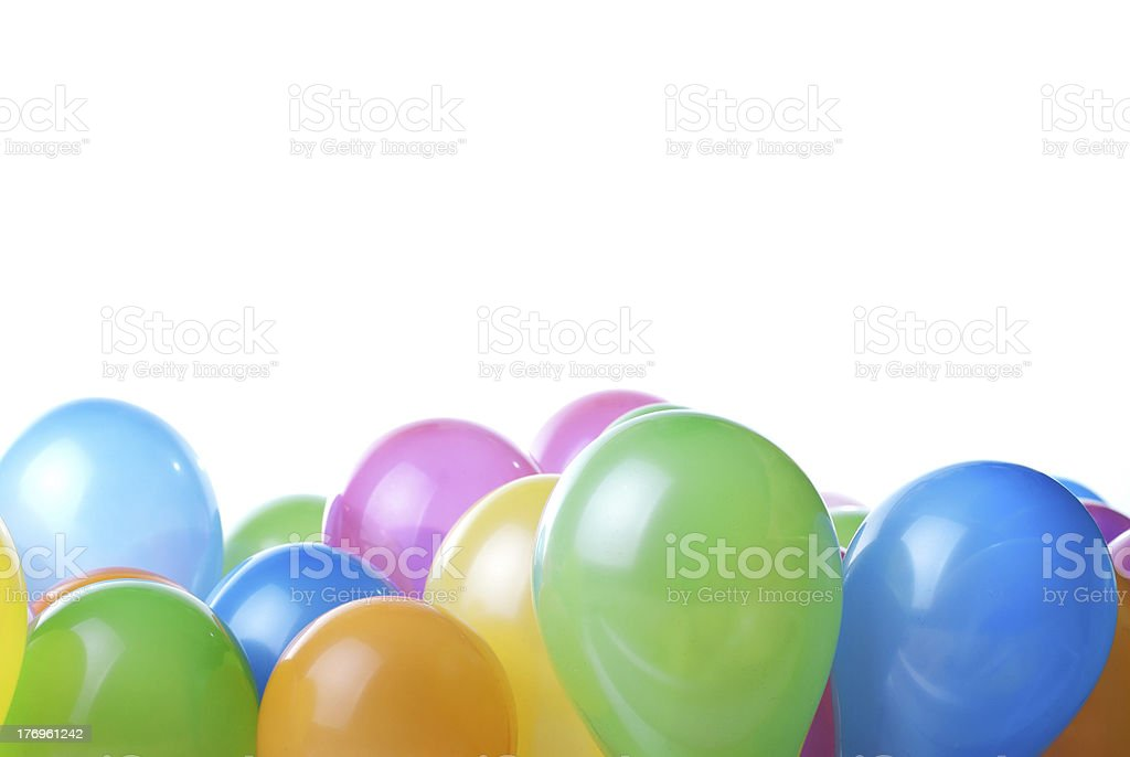 color balloons royalty-free stock photo