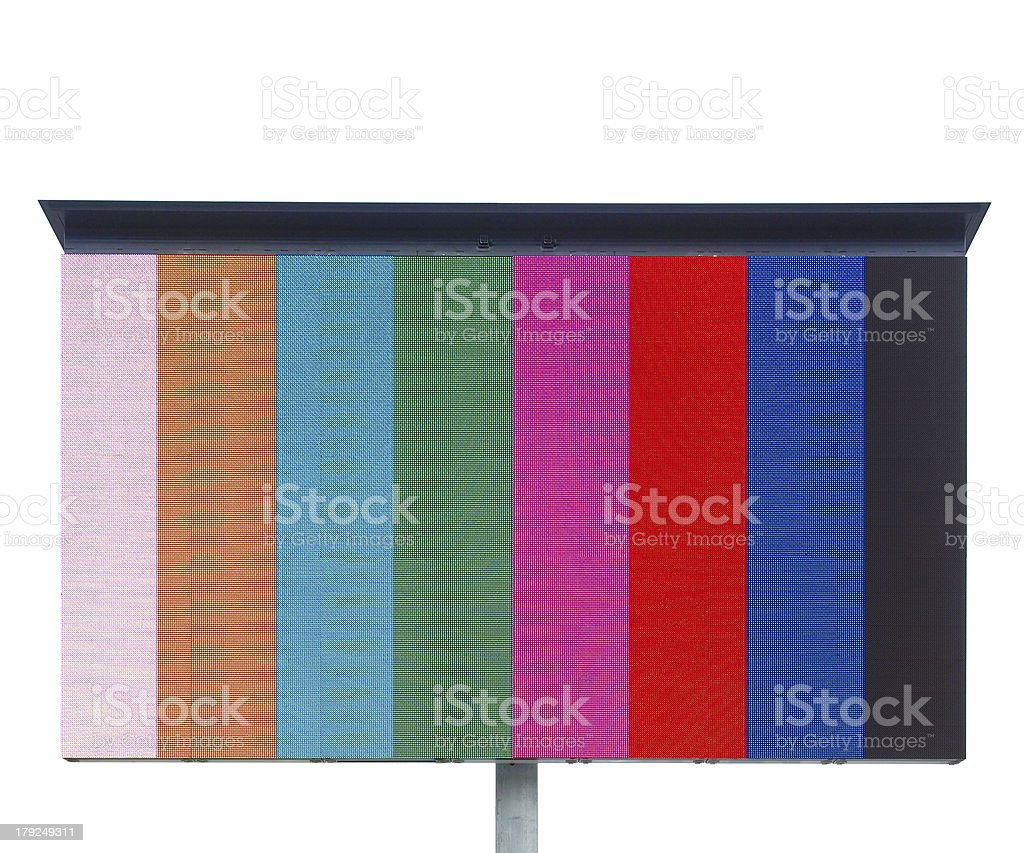 Color bar royalty-free stock photo