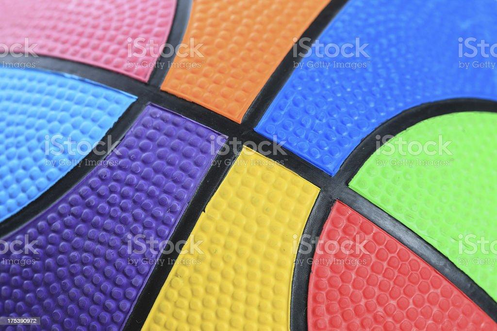 Color Basketball royalty-free stock photo