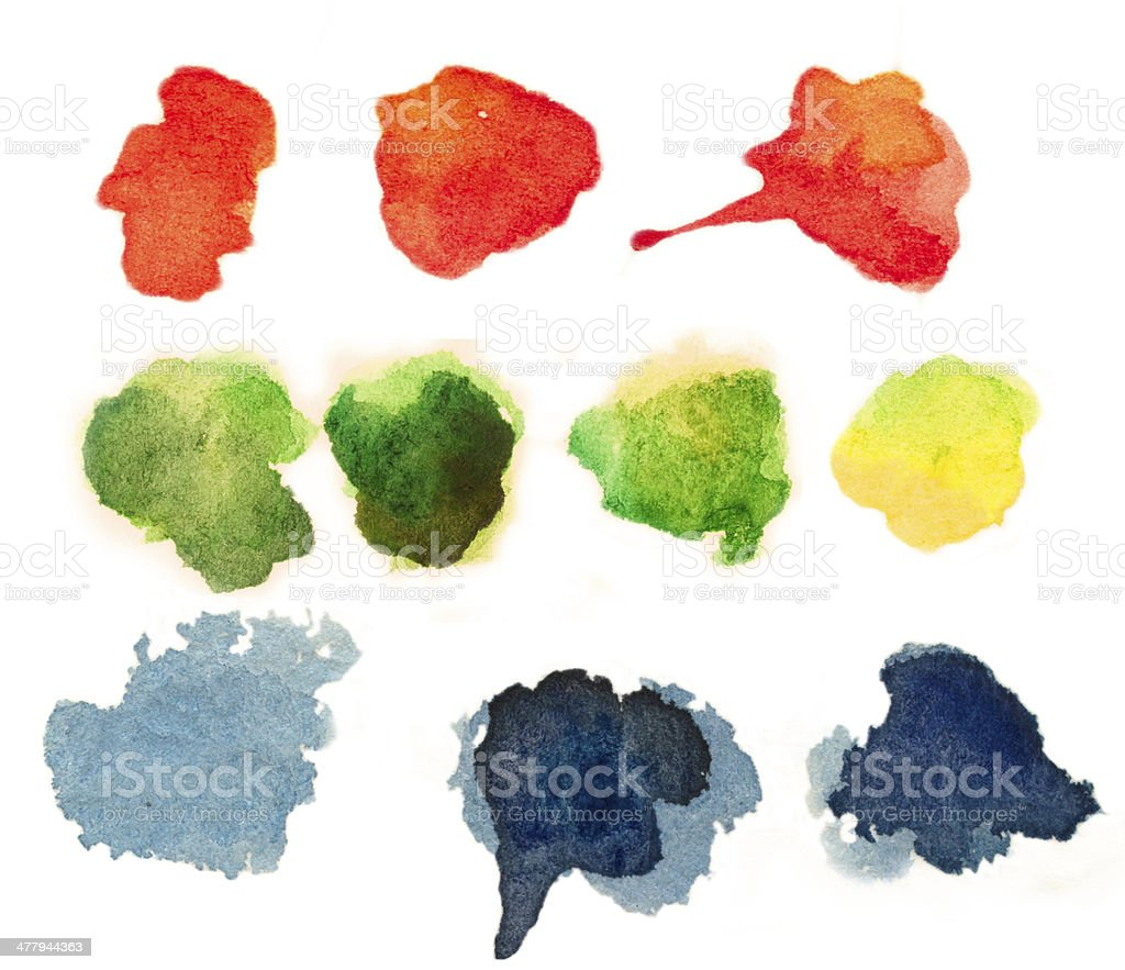 color blobs royalty-free stock photo