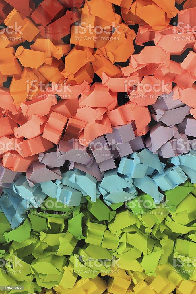 Color box royalty-free stock photo