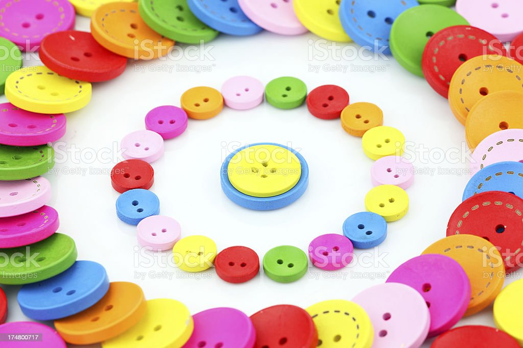 color buttons royalty-free stock photo