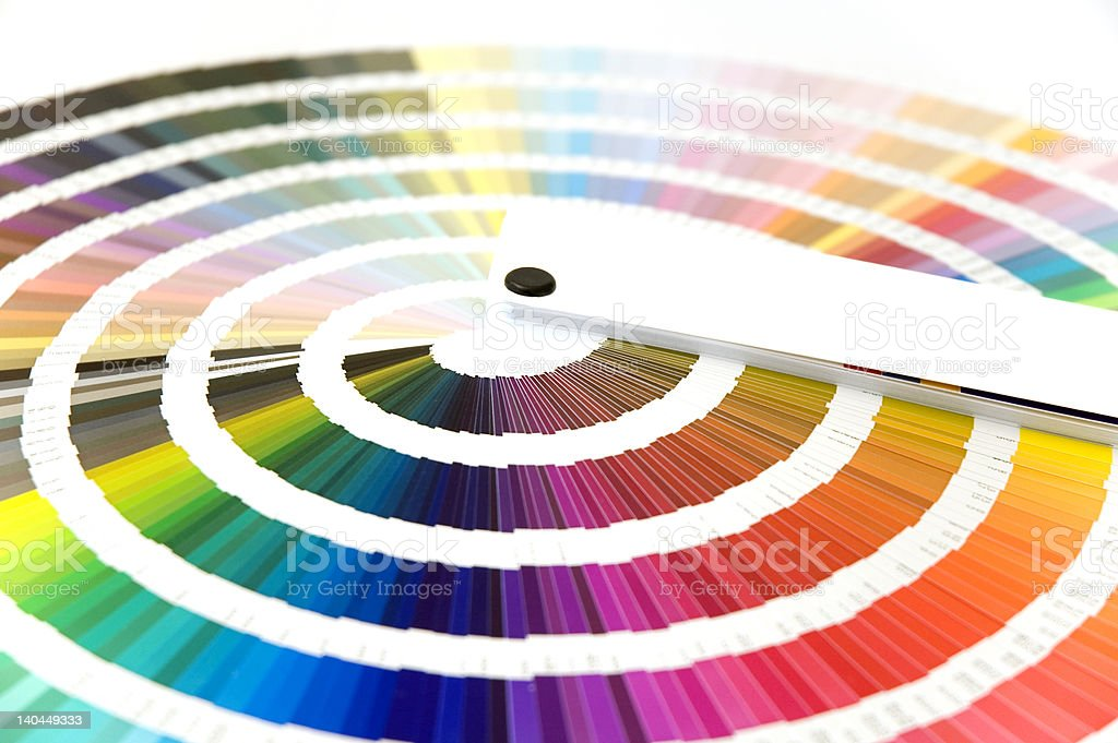 Color card stock photo