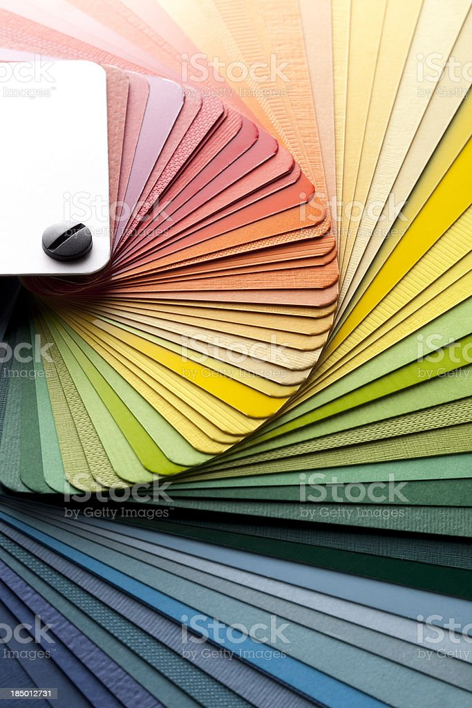 Color card royalty-free stock photo
