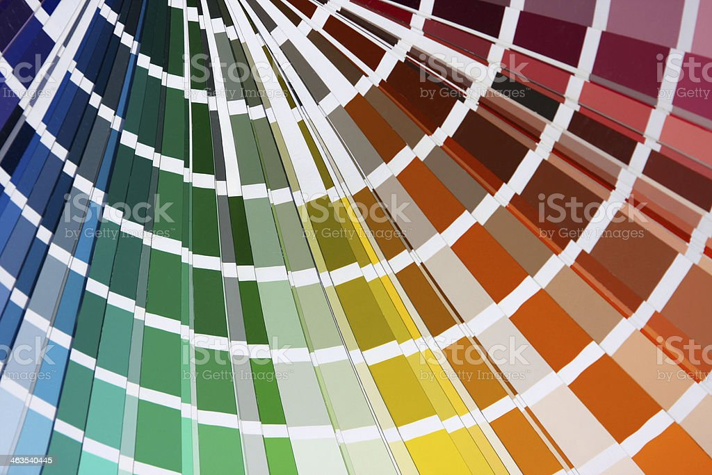 Color card XL royalty-free stock photo