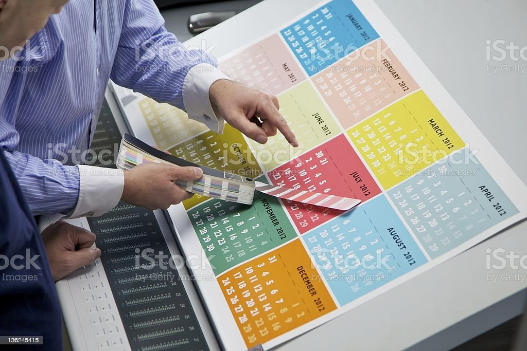 Color Check royalty-free stock photo
