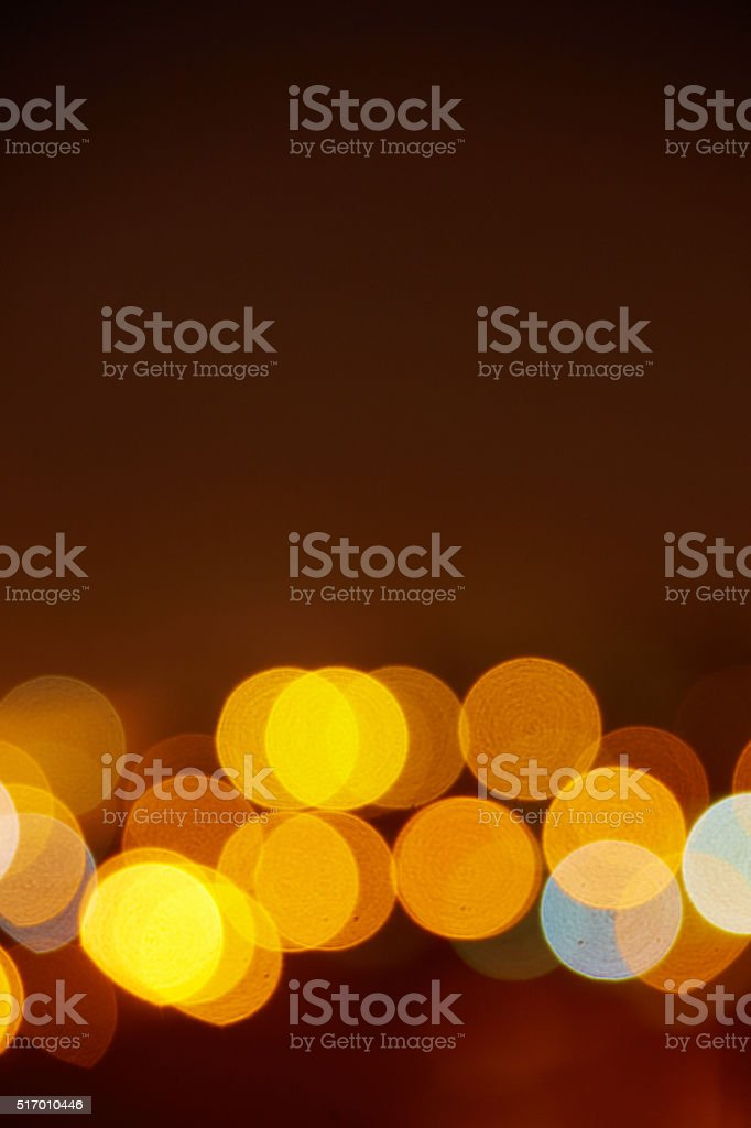 Color circles of light abstract background stock photo