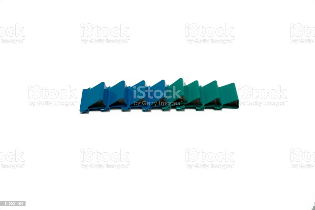 Color clip stock photo