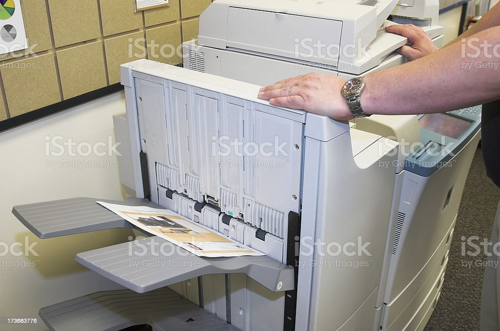color copier royalty-free stock photo