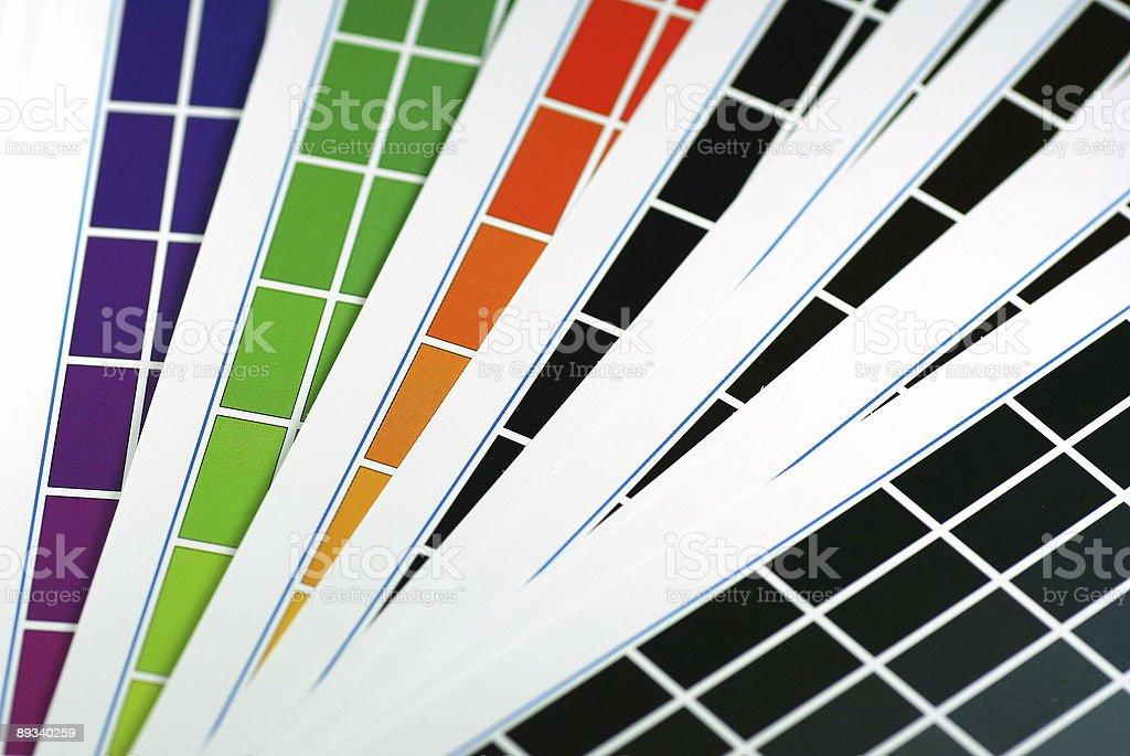 Color details stock photo