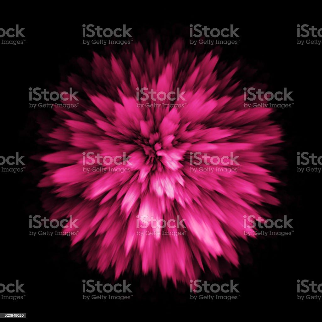 Color dust powder splash blast outburst explosion. stock photo