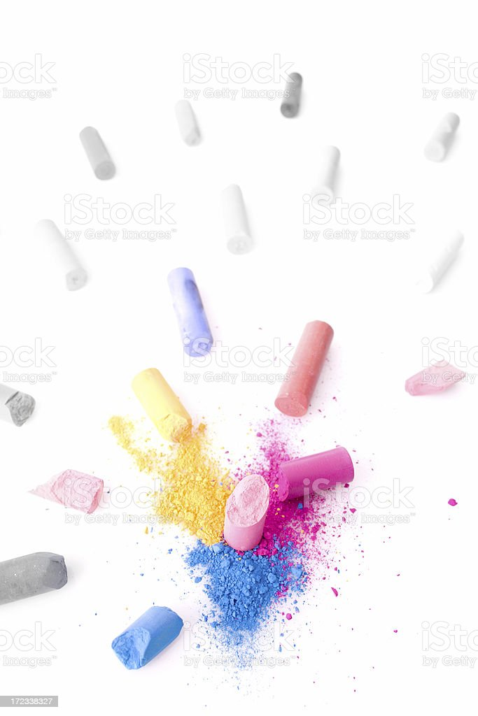 Color explosion royalty-free stock photo