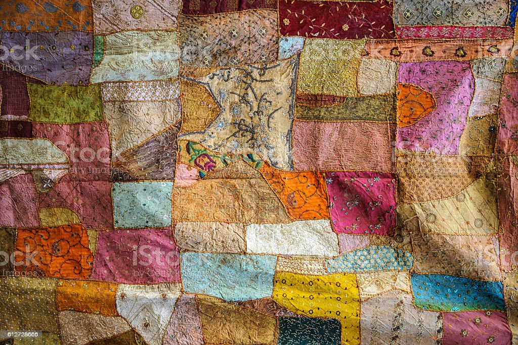 Color Fabric texture stock photo