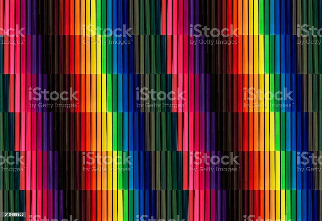 Color Felt Tip Pen Background stock photo