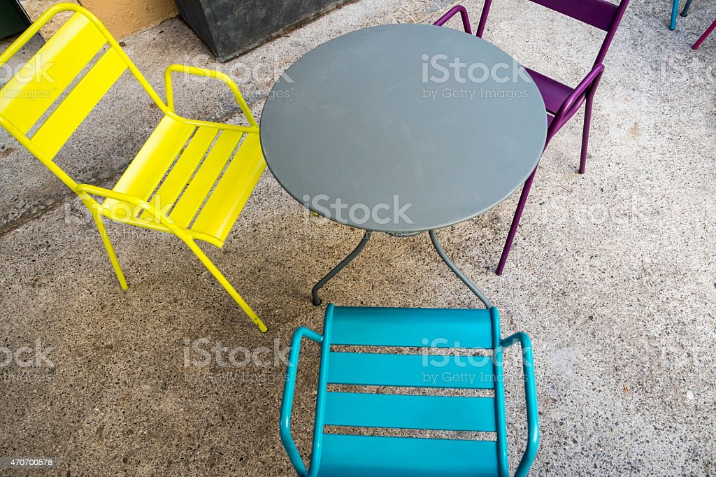 color furniture royalty-free stock photo