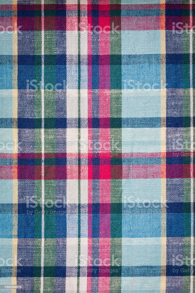 Color Gingham texture royalty-free stock photo
