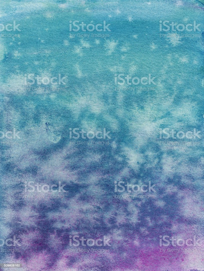 Color gradient with shades of turquoise and purple vector art illustration