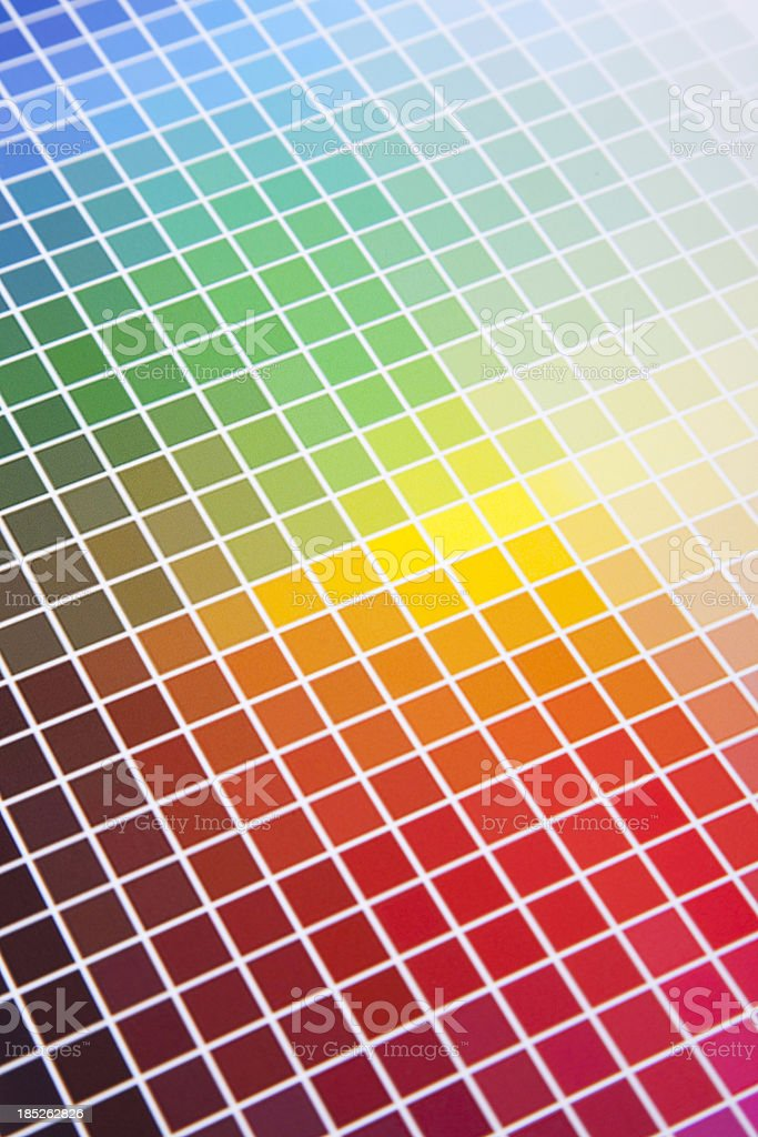 color guide stock photo