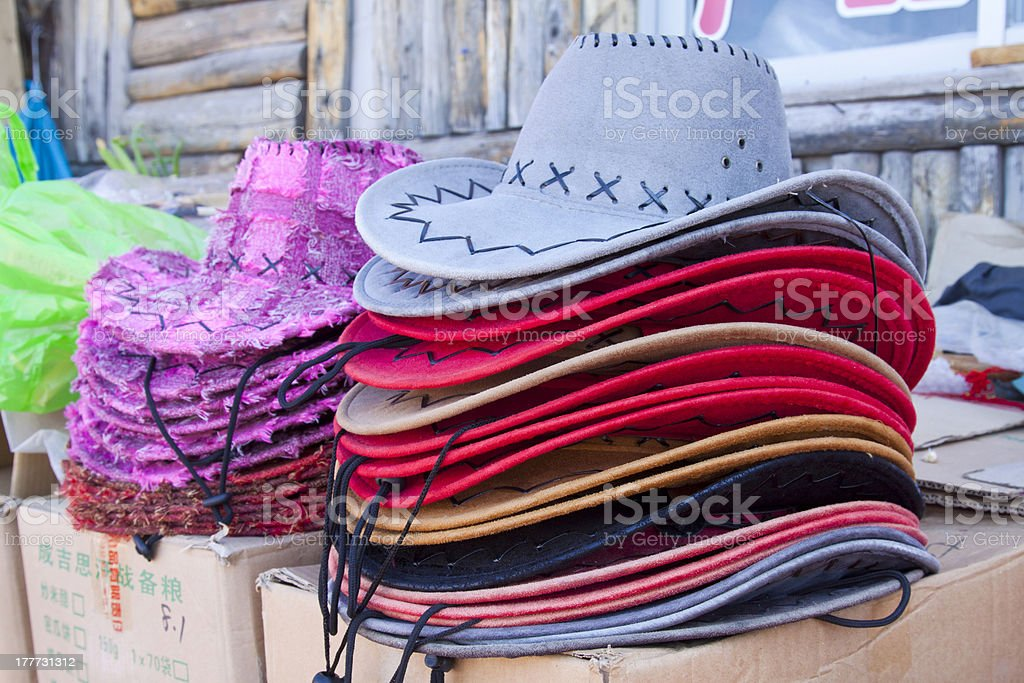 color hat royalty-free stock photo