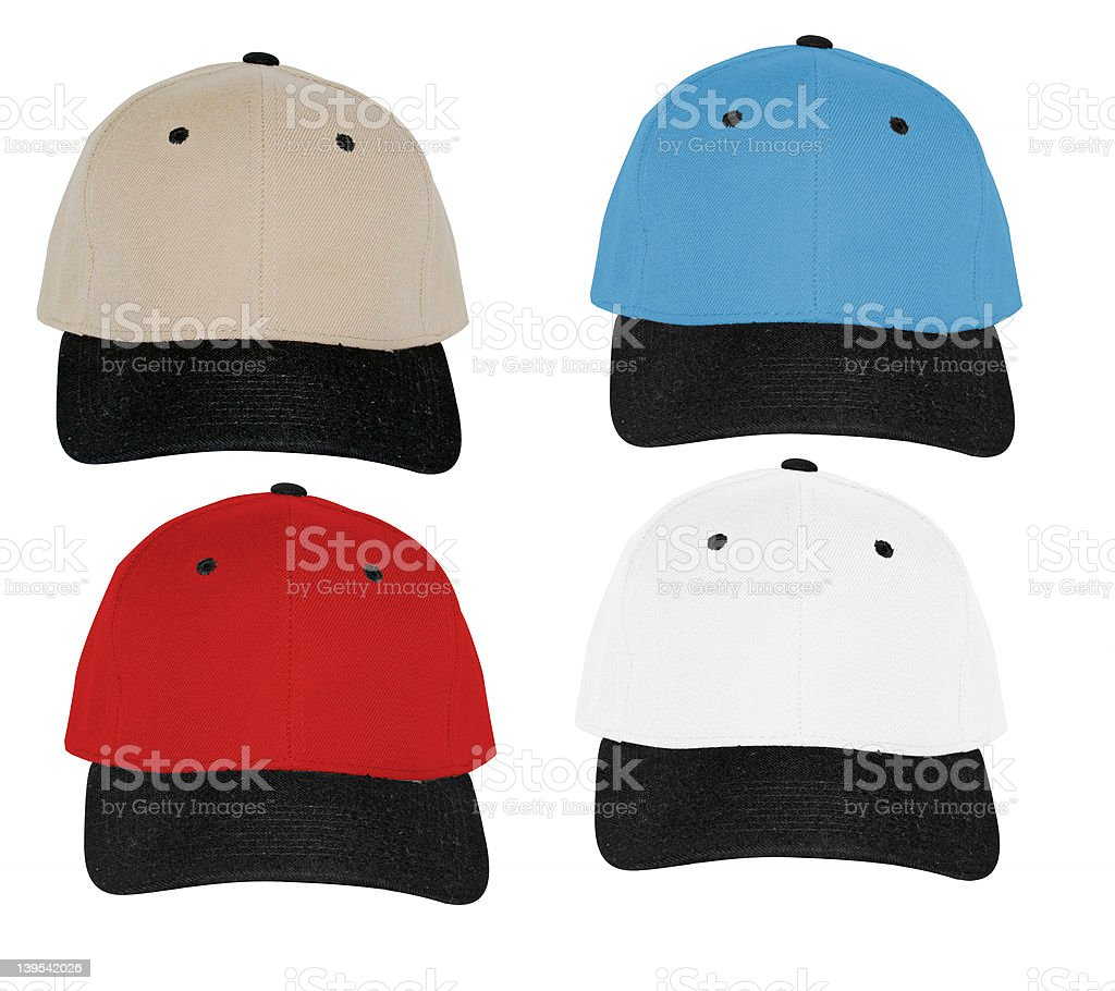 color hats royalty-free stock photo