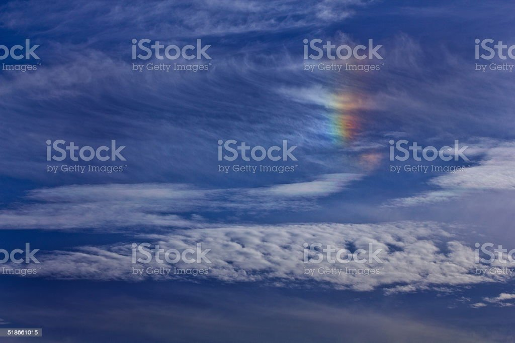 Color in the Sky stock photo