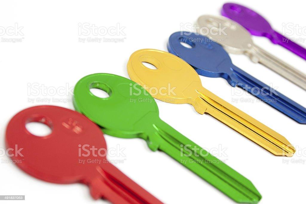 color keys stock photo