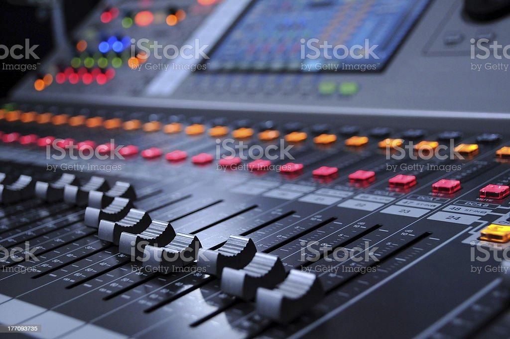 color mixer stock photo