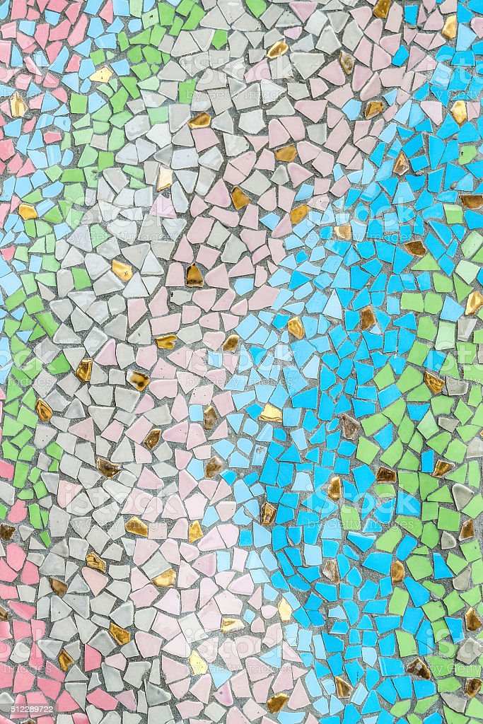 color mosaic stock photo