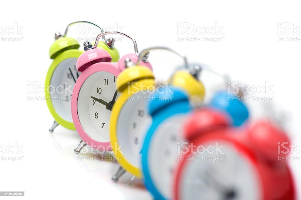 color O'clock stock photo