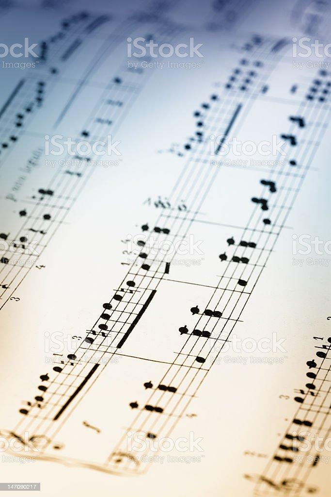 Color of Music stock photo