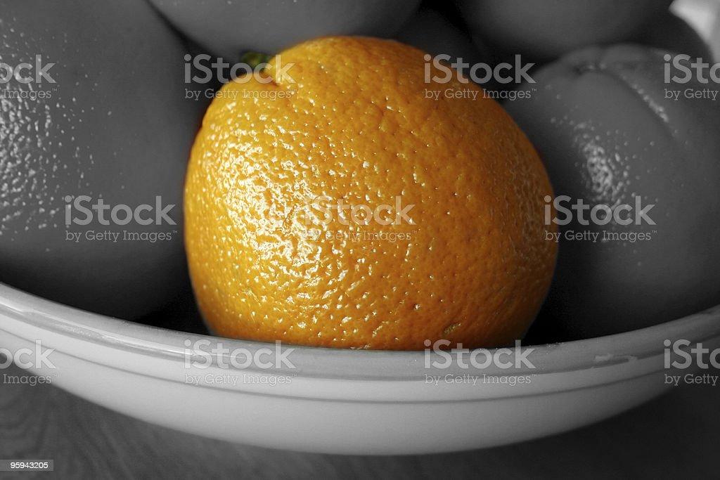 Couleur Orange être différentes des gris photo libre de droits