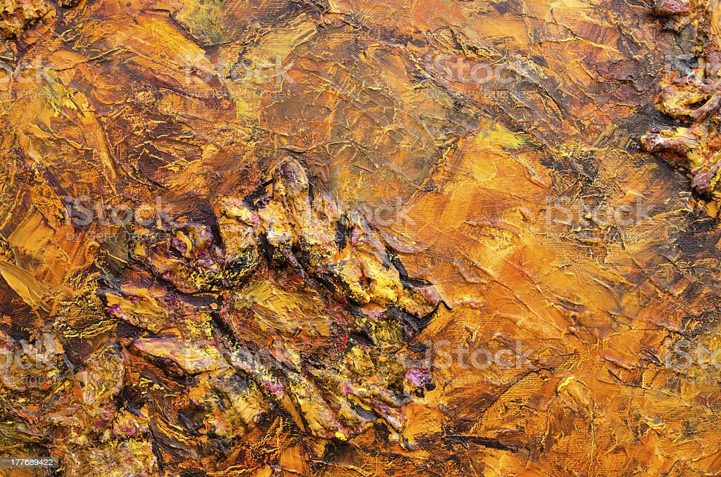 color paint mix acrylic background art hand draw royalty-free stock photo