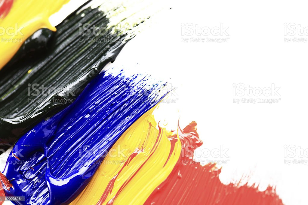 Color Paint royalty-free stock vector art